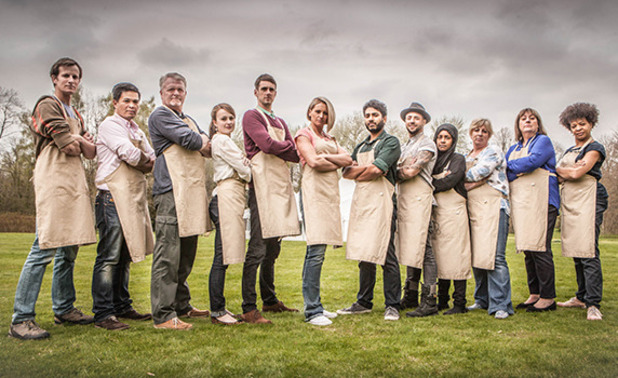 Great British Bake Off contestants 2015