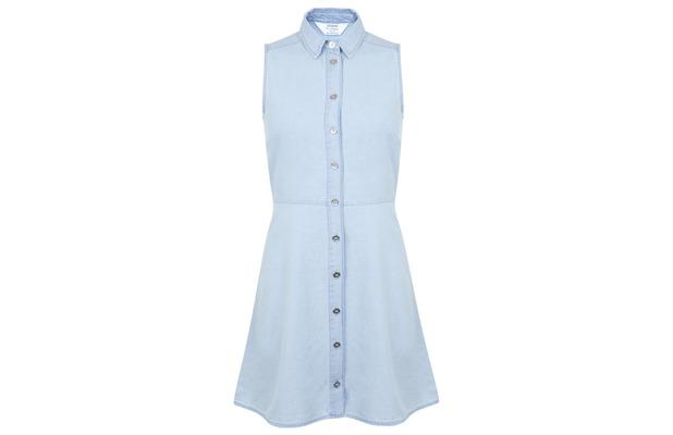 Chambray Shirt Dress Miss Selfridge, £17.50 29th July 2015