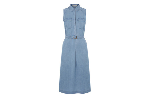 Longline Chambray Dress, Oasis £45, 29th July 2015