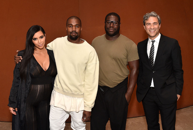 Kim Kardashian at NeueHouse presents Conversation with Steve McQueen, Kanye West, and Michael Govan, LACMA, Los Angeles, California, America - 24 Jul 2015.