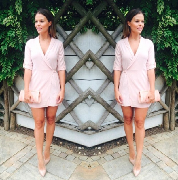 TOWIE's Chloe Lewis takes to Instagram to share picture of her Missy Empire dress, 31st July 2015