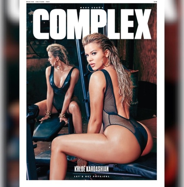 Khloe Kardashian appears on the front cover of Complex Magazine, 27th July 2015