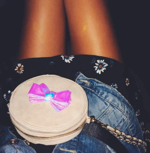 Lucy Watson Instagrams Miss KG Bag, 31st July 2015