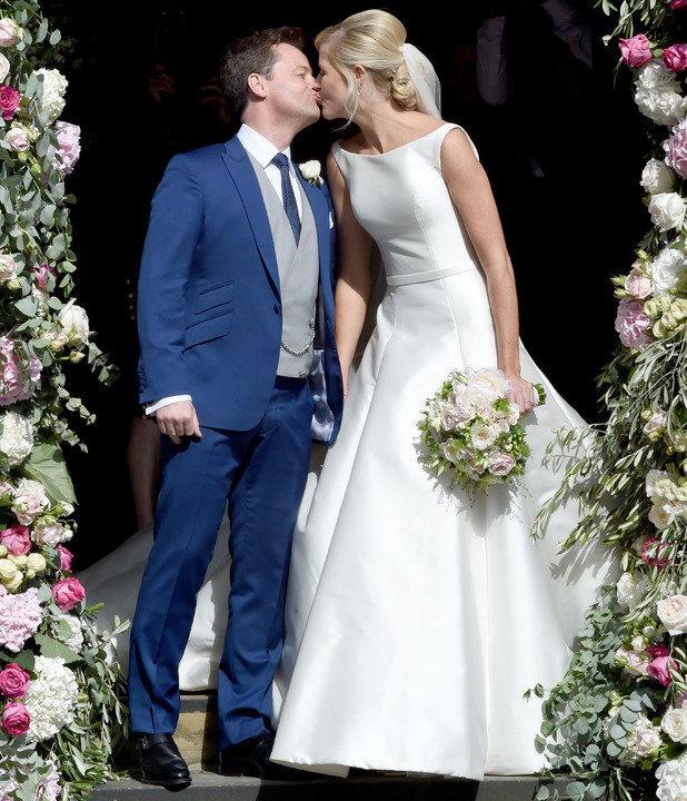 Declan Donnelly and Ali Astall Wedding, St. Michaels Church, Elswick, Newcastle - 01 Aug 2015
