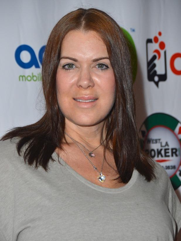 Former professional wrestler Joanie 'Chyna' Laurer arrives at the Raising the Stakes for Cerebral Palsy Celebrity Poker Tournament - 19 June 2015.