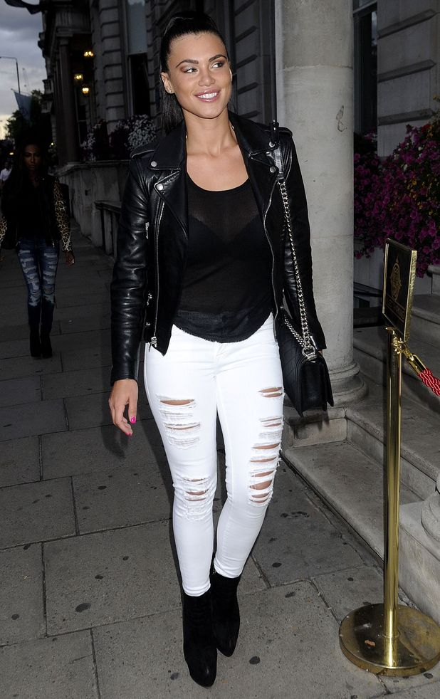 TOWIE's Verity Chapman out and about, London, Britain - 25 Jul 2015.