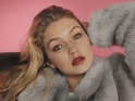 Gigi Hadid poses in fur jacket for Topshop campaign, 28th July 2015