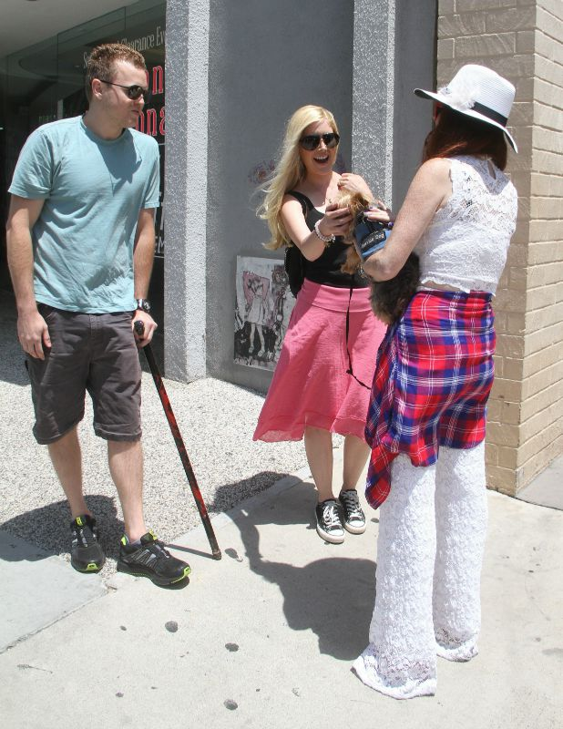 Heidi Montag and Spencer Pratt out and about, Los Angeles, America - 28 Jul 2015