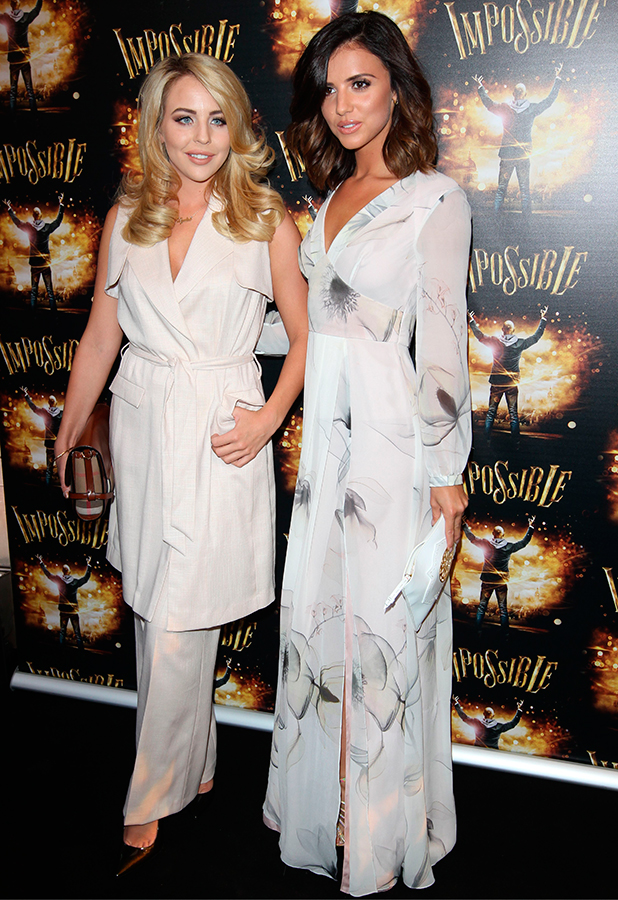 'Impossible' play opening night, London, Britain - 30 Jul 2015 Lydia Rose Bright and Lucy Mecklenburgh