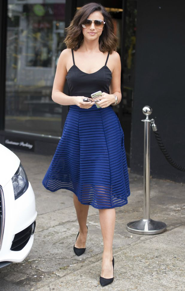 Lucy Mecklenburgh out and about, Brentwood, Essex, Britain - 29 Jul 2015