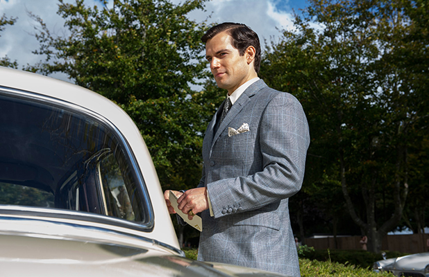 The Man From UNCLE film still Starring Henry Cavill, Armie Hammer and Alicia Vikander