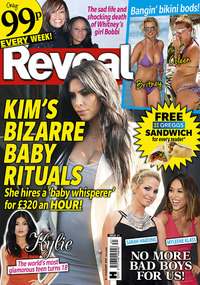 Reveal magazine cover - issue 31.