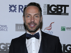 Jason Gardiner - British LGBT Awards at the Landmark Hotel - 24/4/2015.