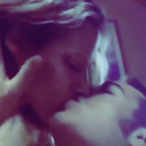 Caroline Flack shares video of her first TV job  - a steamy scene with Danny Dyer - 2 August 2015.
