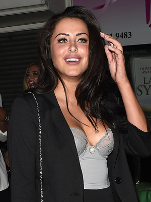 Marnie Simpson attends In The Style's Summer Part at The Drury Club, London 16 July