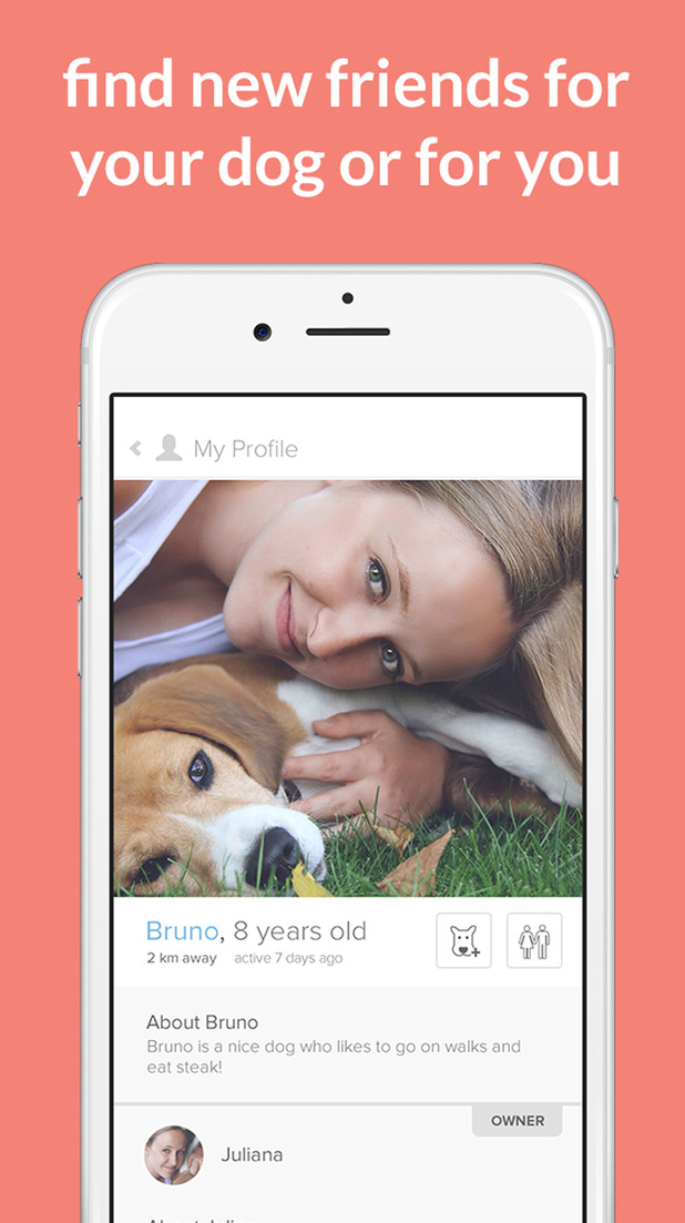 Tindog App provides dog lovers with a way of meeting other pet parents and their pets, 4th August 2015