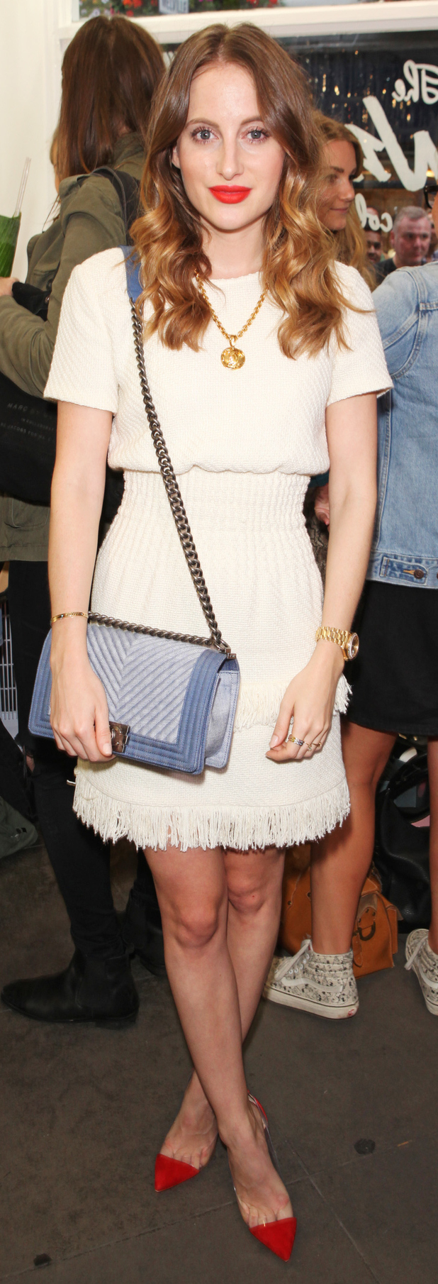MIC's Rosie Fortescue at the Zara Martin X Skinnydip London party 5th July 2015