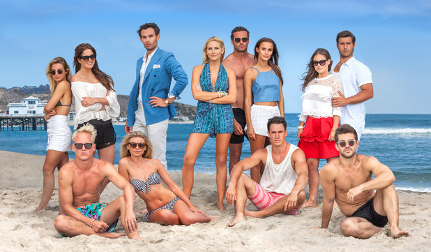 Made In Chelsea: LA cast - August 2015.
