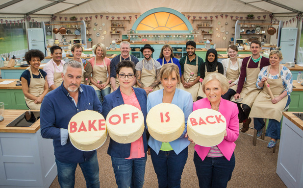 The Great British Bake Off, Wed 5 Aug