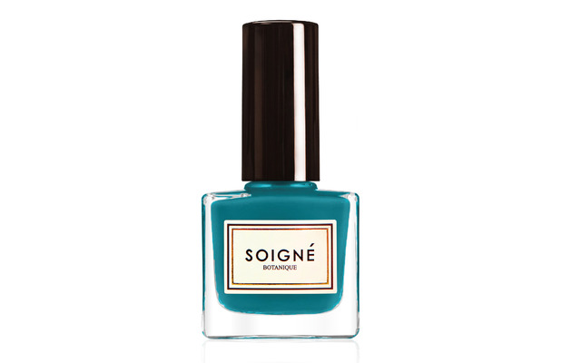 Soigne Nail Lacquer in Vodka Bleu £11. 3rd August 2015