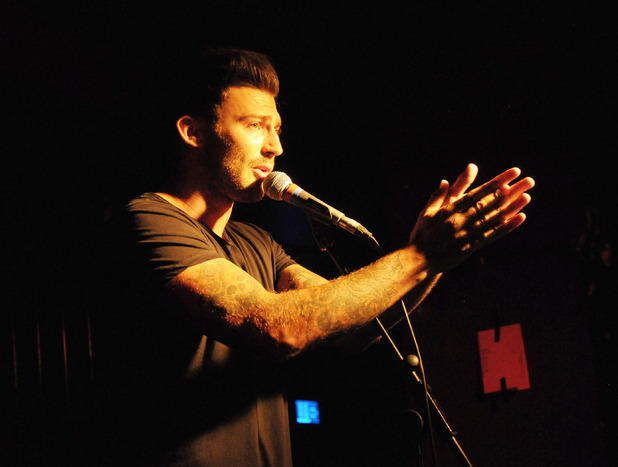 Jake Quickenden performs at the Islington Academy 2 in London, July 2015