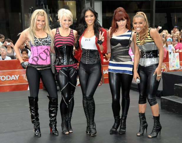 The Pussycat Dolls perform live on 'The Today Show's Summer Concert Series' at Rockefeller Plaza 2008