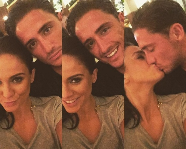Vicky Pattison and boyfriend Stephen Bear 5 August