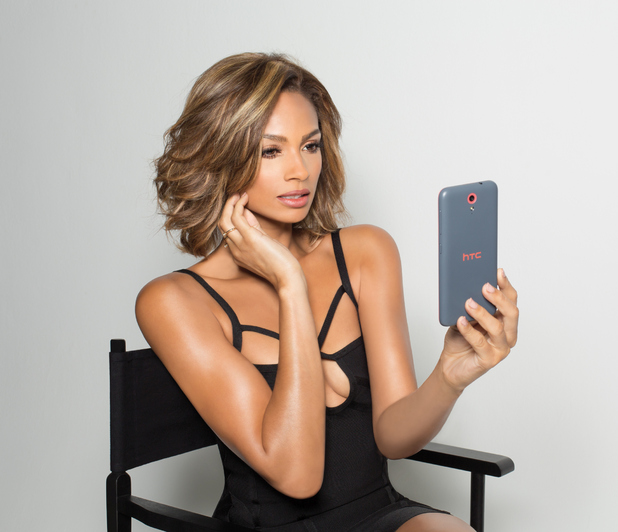Alesha Dixon appears in Smashbox X HTC UK selfie campaign, PICTURE THREE 6th August 2015