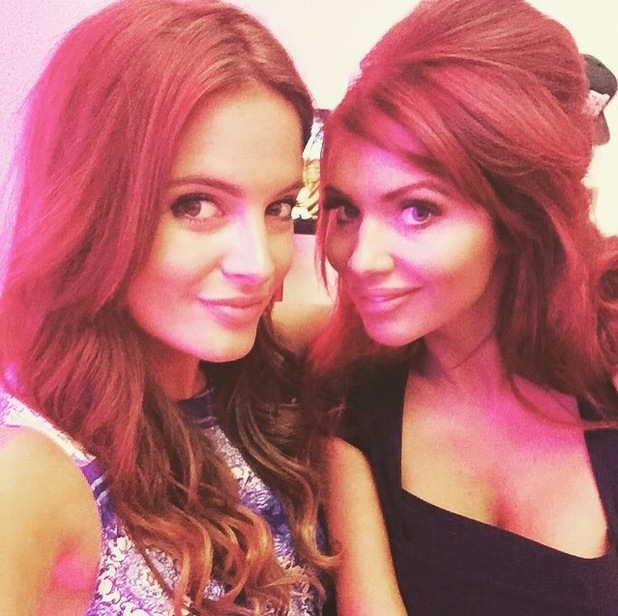 Binky Felstead and Amy Childs at Very's Summertime Launch 6 August