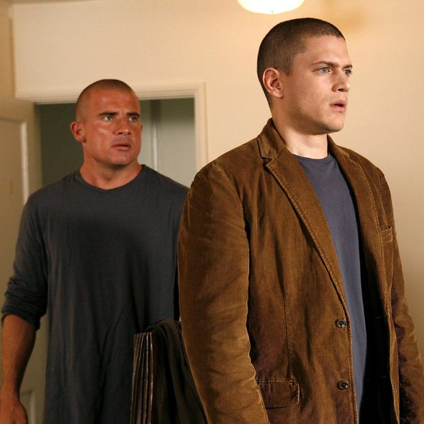 Dominic Purcell, Wentworth Miller - 'Prison Break' (FOX) Season 4, 2008-2009.