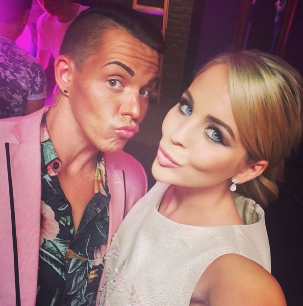 TOWIE's Bobby Norris and Lydia Bright filming secret project - 5 August 2015.
