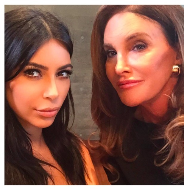Kim Kardashian and Caitlyn Jenner, 8 August 2015