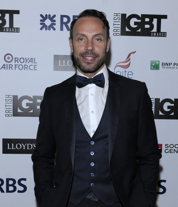 Jason Gardiner - British LGBT Awards at the Landmark Hotel - 24/4/2015.