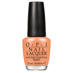 O.P.I Nail Colour in Is Mai Tai Crooked £12.50 10th August 2015