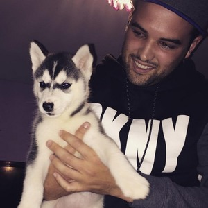 Ricky Rayment welcomes new puppy, Instagram 9 August