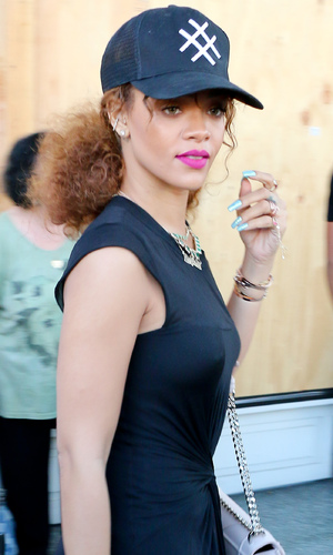 Rihanna out in Beverly Hills, LA 30 July
