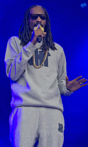 Snoop Dogg at Kendal Calling festival 2015 - Day 4 - Performances. 2 August 2015.