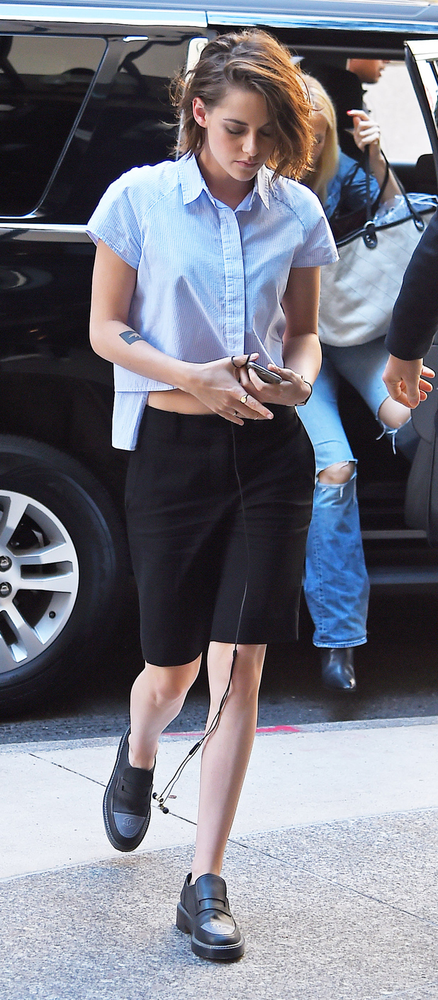 Kristen Stewart out and about in New York, 10th August 2015