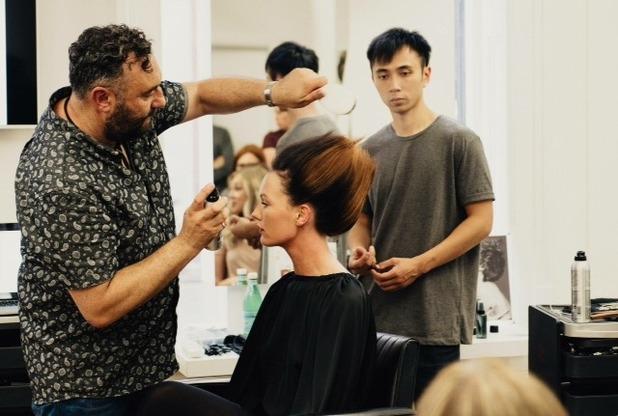 Brooke Vincent Blog: Ruben Wood Hair Masterclass 10 August