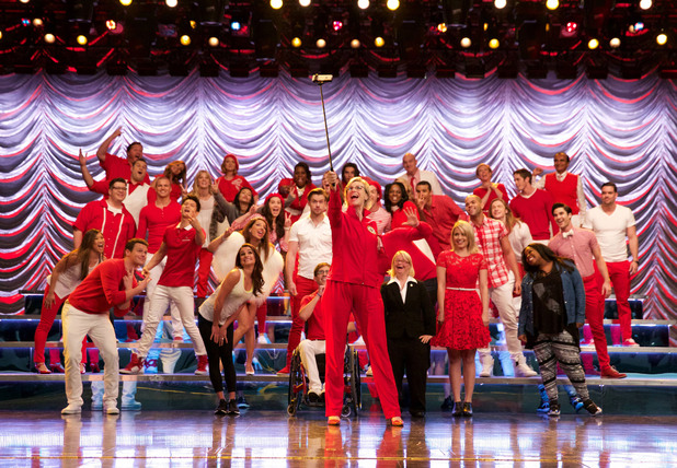 Glee, last episode, Thu 13 Aug