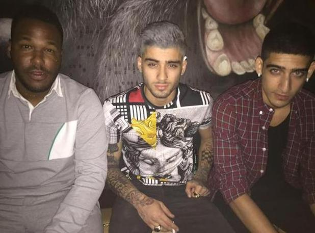 Zayn Malik unveils new grey hair in Los Angeles - 12 August 2015.