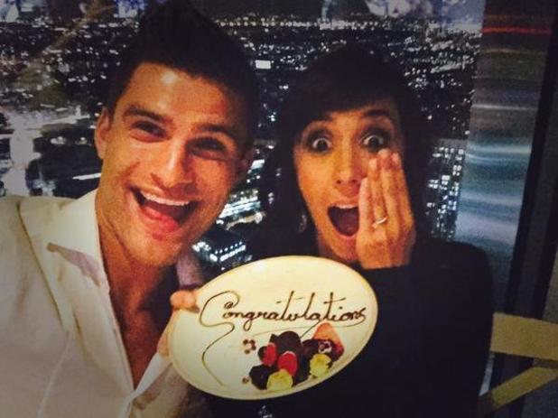 Strictly Come Dancing pro Aljaz Skorjanec proposes to Janette Manrara over dinner - 13 August 2015.
