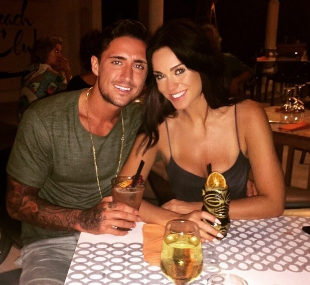 Vicky Pattison and Stephen Bear in Ibiza 11 August