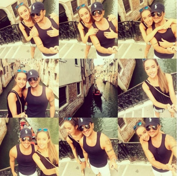 Peter Andre and new wife Emily holiday in Venice, 16 August 2015