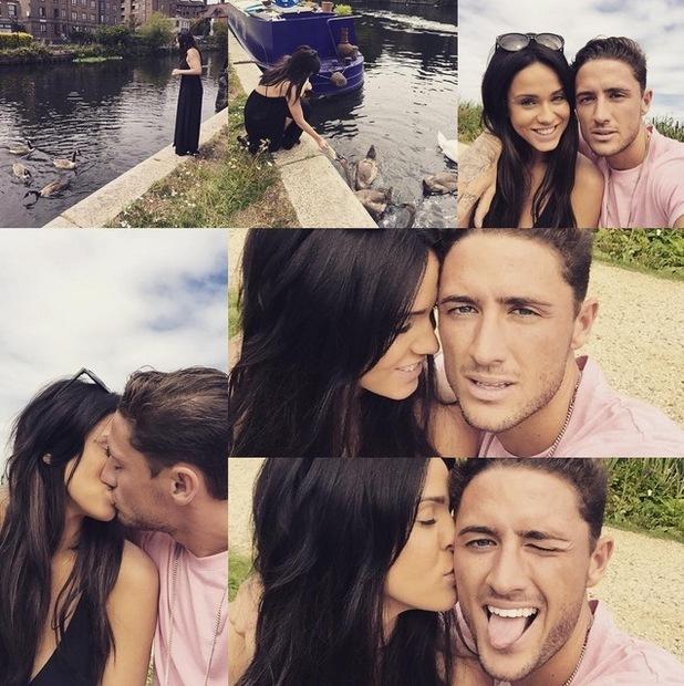 Vicky Pattison and boyfriend Stephen Bear 9 August