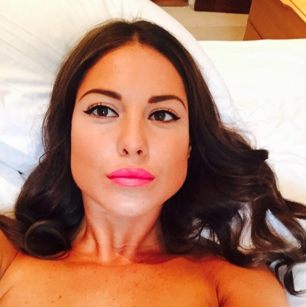 MIC's Louise Thompson uploads makeup selfie to Instagram 11th August 2015