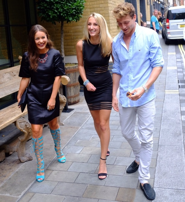 Louise Thompson, Sam Thompson and Tiffany Watson, Absolutely Anything Screening, London 10 August