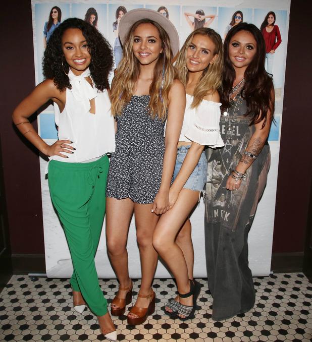 Little Mix 'Black Magic' single promotion, Glendale, California, America - 04 Aug 2015