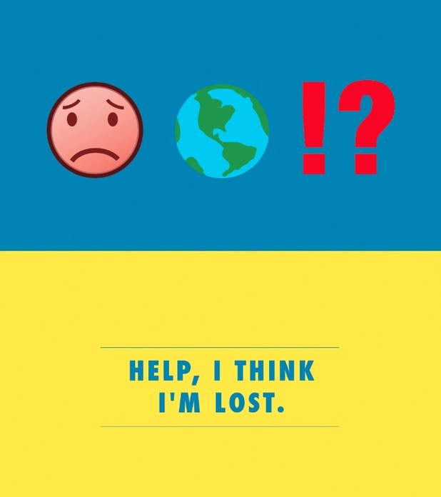 'Help, i think i'm lost'. Emoji flashcards to help brits abroad break down the language barrier, August 2015