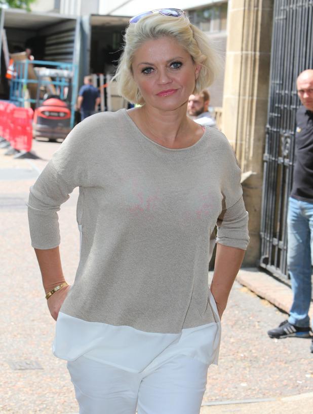 Daniella Westbrook at the ITV studios, London 26 June